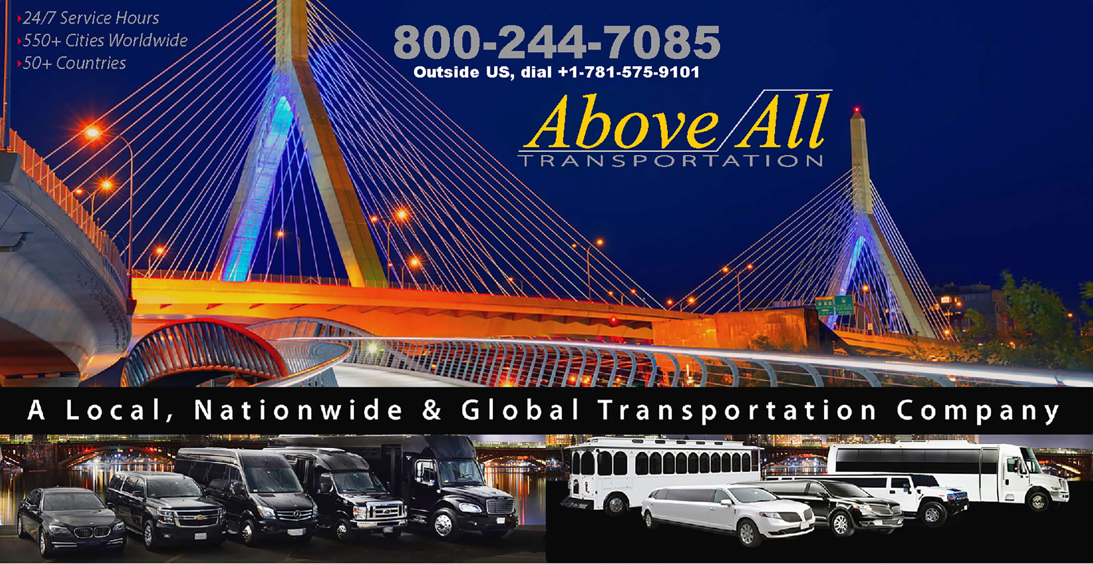 Hero- Above All Transporation-Contact Us